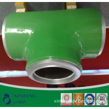 Coated Carbon Steel Pipe Fittings Tee Equal/Reduce