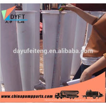 factory of lower price wear resistant concrete pump reducing pipe made in china and other spare parts