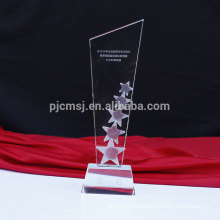 Latest design superior quality custom crystal award trophy