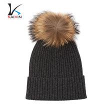 2017 design personalizado de alta qualidade mens inverno chapéu de pele