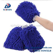 Hohe Qualität Chenille Autowaschhandschuh Auto Reinigung Handschuh Mikrofaser