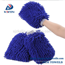 High quality chenille car wash mitt car cleaning glove microfiber
