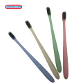 Hot selling tooth cleaning colorful round handle toothbrush