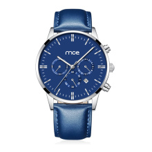Wholesale Leather Chronograph Man Watches