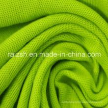 65% Coton 35% Perles en polyester et tissu Mesh CVC