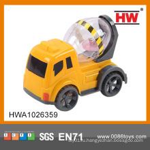 14см пластиковая игрушка мини грузовик со светом (включенная батарея)