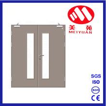 Steel Fire Door, Double Glass Doors