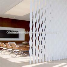 China-Wellen-isolierte motorisierte Büro-vertikale Vorhänge Großverkauf
