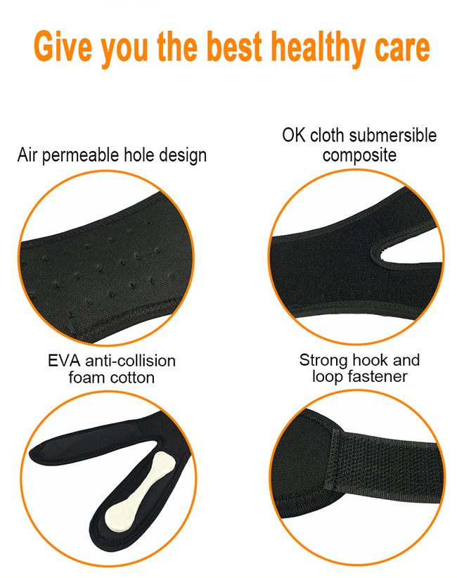 antislip knee guard