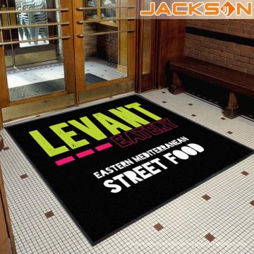 Art und Weise neue Marken-Nylon gedruckte Firmenzeichen-Fußboden-Tür-Matte