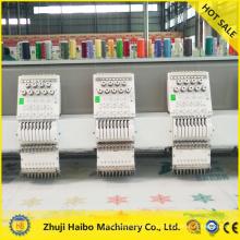 Computarizados máquina plana del bordado máquina alta calidad multi cabezas del bordado máquina alta velocidad lentejuelas bordado