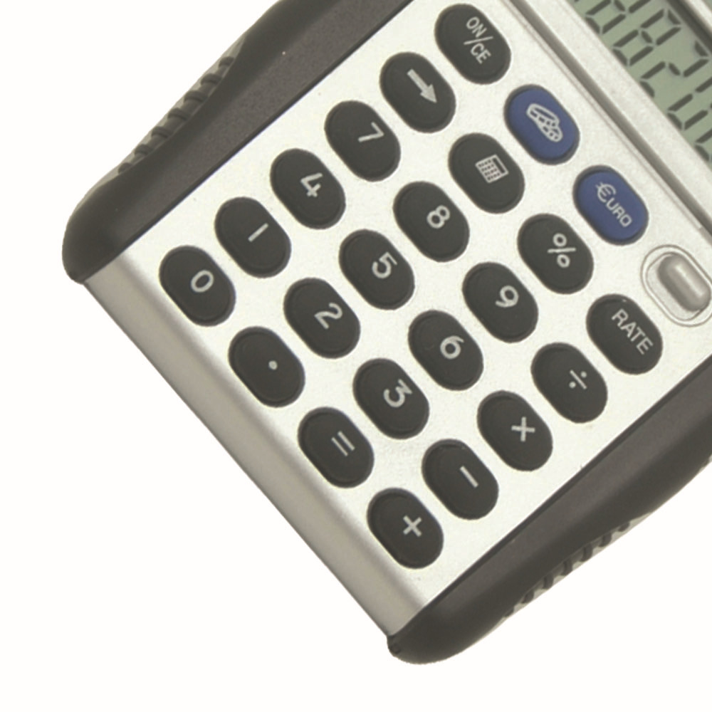 Mini Dual Display Flip Cover Pocket Calculator