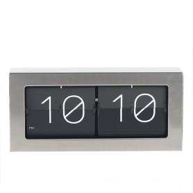 Auto flip down box big flip clock
