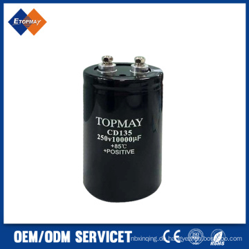 250V 10000UF Schraube Terminal Aluminium elektronischer Kondensator (TMCE21)