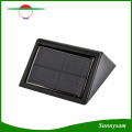 Latest Model 1W Super Bright 28 LED Solar Wall Light Outdoor Wireless Wall Mounted Lamp Decorating Porch, Balcony