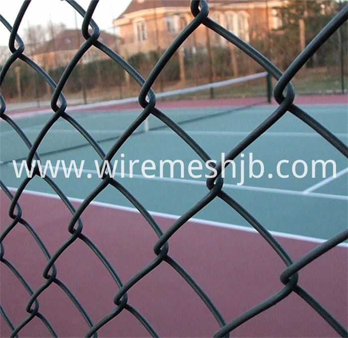 The Basketball Court Fence-Green Color Chain Link Fence China ...