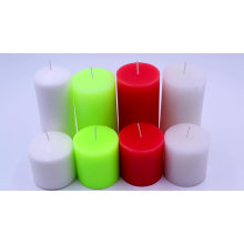 Wholesale Best Quality Big size church white pillar candle