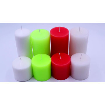 Wholesale romantic pillar scented candles for party