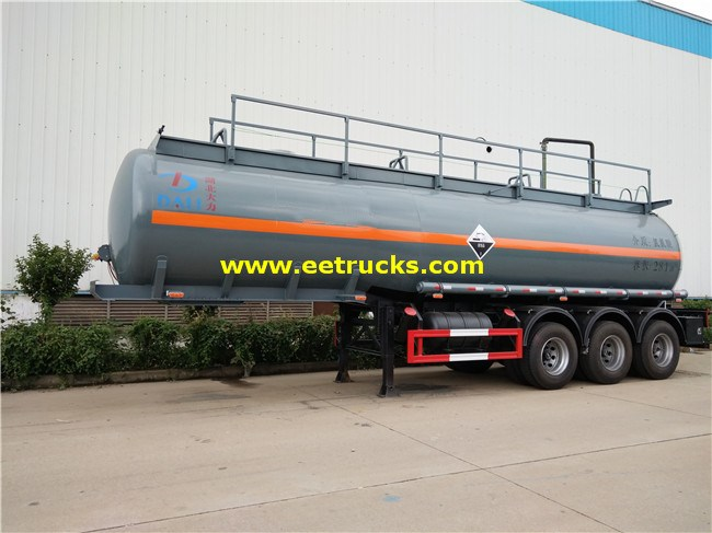28 CBM Hydrochloric Acid Transport Trailers
