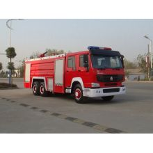 Sinotruk HOWO used rescue ladder trucks for sale