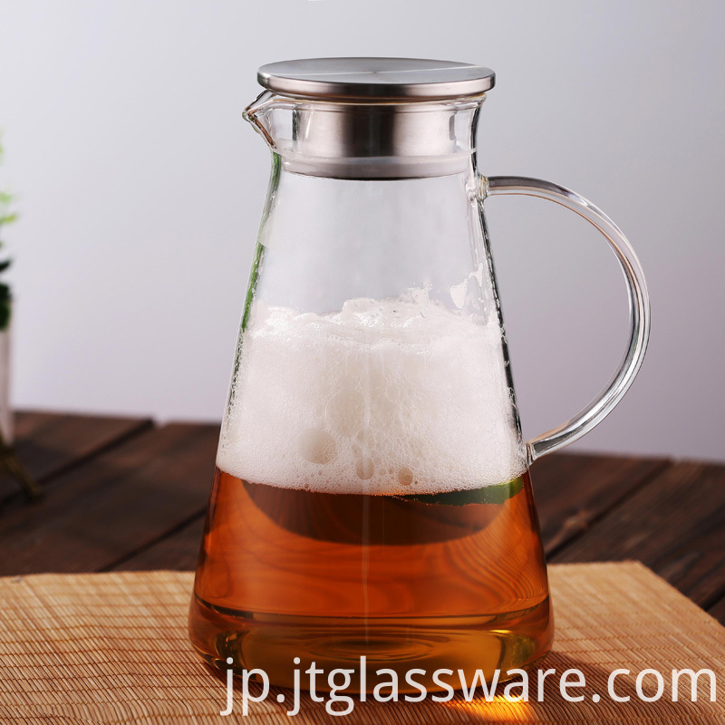 Juice Iced Tea Glass Pitcher