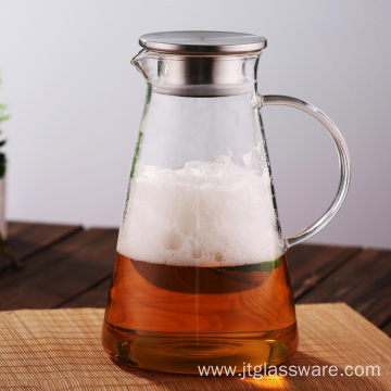 Homemade Juice Iced Tea by Glass Jug