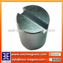 Imán permanente del separador del neodimio N52 / imán grande del separador de la forma del gauss grande para la venta
