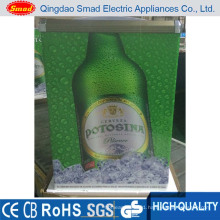 Supermarket Glass Door Chest Type Freezer Fro Ice Cream