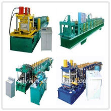 QJ automatic color steel C purlin rolling forming machine