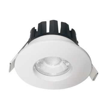 7W face couverture modifiable feu résistant led downlight