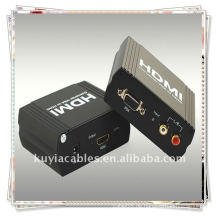 Hochwertiger VGA + R / L TO HDMI Konverter