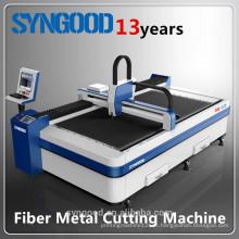 Máquina de corte de chapa metálica CNC Espessura de 0,5-16mm Design aberto 1500 * 3000mm