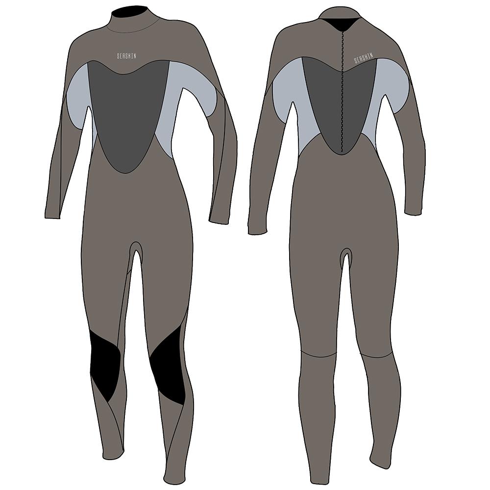 Lady back zipper Wetsuits
