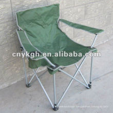 Traveling Military folding chair with armrest ,Heavy duty chair