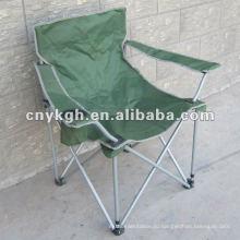 Путешествуя военный складной стул с подлокотником ,сверхмощный стул