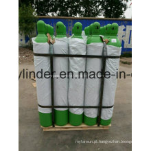 Cilindro de gás ISO9809 de 50 litros de oxigênio