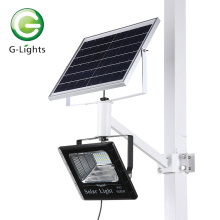 High lumen led chip holofote solar de alumínio