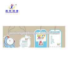 Customize available!Wholesale Cardboard Labels Clothing Hang Tag Paper Hang Tags