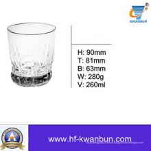 Copa de vidrio transparente Copa de cerveza Copa de whisky Utensilios de cocina Kb-Hn0358