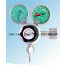 Gauge Flow Regulator for Medical Uses
