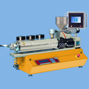 Benchtop small twin screw extruder / PLC control