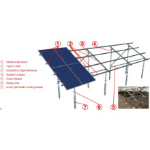 Solartechnik aus / auf Netz Solaranlage montieren Teile