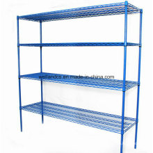 Custom Epoxy Metal Wire Carpet Storage Racks for Warehouse/Coldroom