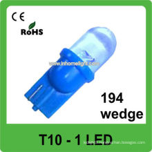 automotive led lamp 12V T10 led car