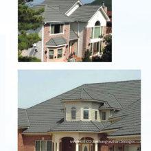 Baustoff / Steinbeschichtete Dachziegel / Sandbeschichtete Dachdecker