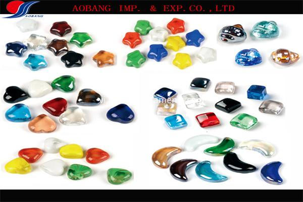 special-shape glass marbles
