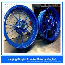 Revestimiento de resina epoxi azul y fábrica de pintura
