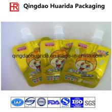 Bolsas de envasado para beber con una impresión colorida