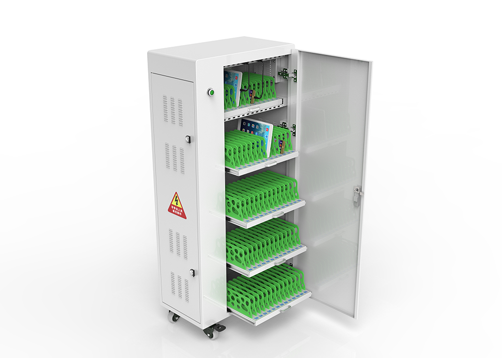 Smart Tablet Charging Carts
