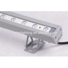Buena calidad Aluminio ip65 solo color / rgb llevado arandela de pared de alta eficiencia con buen rendimiento